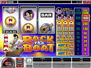 Rock the Boat Classsic Slots